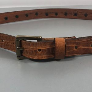 Brave Accessories - genuine Leather belt by Brave Beltworks Canada